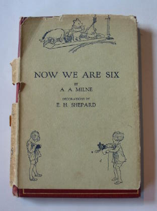 Photo of NOW WE ARE SIX written by Milne, A.A. illustrated by Shepard, E.H. published by Methuen & Co. Ltd. (STOCK CODE: 738899)  for sale by Stella & Rose's Books