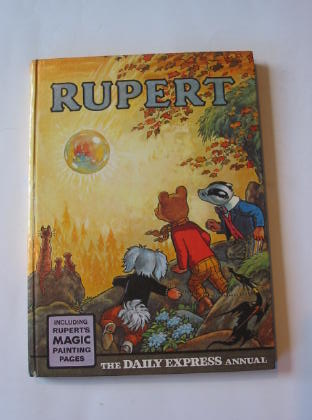 Photo of RUPERT ANNUAL 1968 written by Bestall, Alfred illustrated by Bestall, Alfred published by Daily Express (STOCK CODE: 738976)  for sale by Stella & Rose's Books