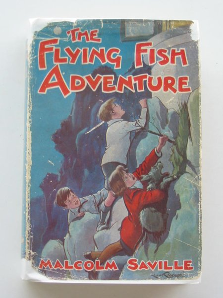 Photo of THE FLYING FISH ADVENTURE written by Saville, Malcolm illustrated by Roberts, Lunt published by John Murray (STOCK CODE: 803880)  for sale by Stella & Rose's Books