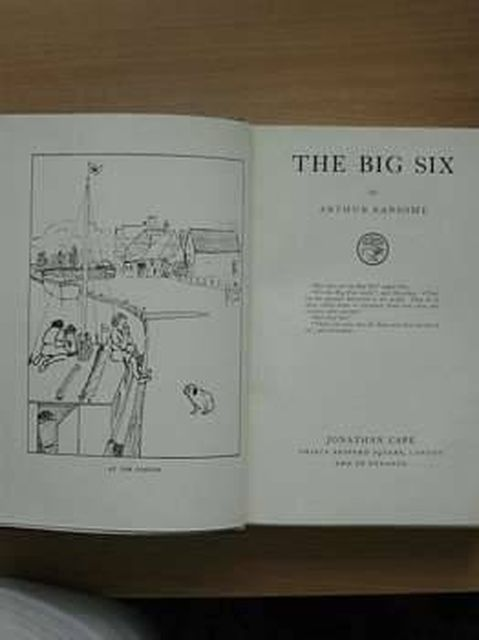 Photo of THE BIG SIX written by Ransome, Arthur illustrated by Ransome, Arthur published by Jonathan Cape (STOCK CODE: 805038)  for sale by Stella & Rose's Books