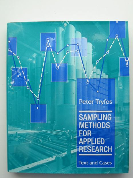 Photo of SAMPLING METHODS FOR APPLIED RESEARCH- Stock Number: 806100