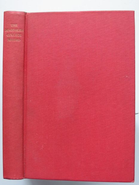 Photo of THE MAGDALEN COLLEGE RECORD 1966 published by Oxford University Press (STOCK CODE: 806367)  for sale by Stella & Rose's Books
