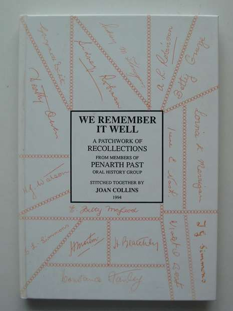 Photo of WE REMEMBER IT WELL written by Collins, Joan published by Penarth Past Oral History Group (STOCK CODE: 807370)  for sale by Stella & Rose's Books