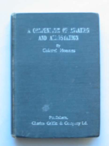 Photo of A COMPENDIUM OF AVIATION AND AEROSTATION written by Hoernes, H.<br />Ledeboer, J.H. published by Charles Griffin & Co. Ltd. (STOCK CODE: 809859)  for sale by Stella & Rose's Books