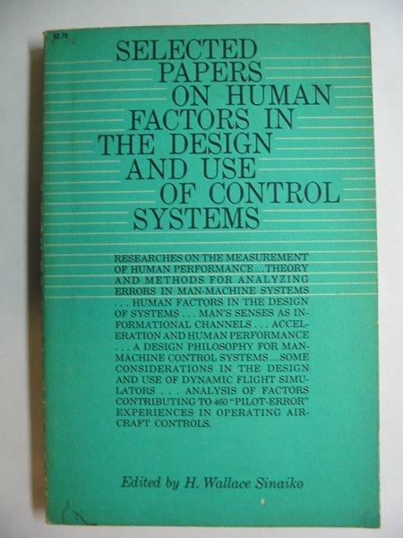 Human Factors/Ergonomics - Essay Example