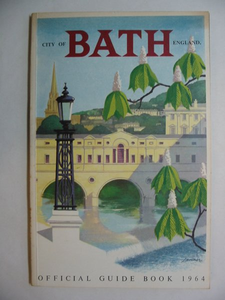 Photo of CITY OF BATH OFFICIAL GUIDE BOOK published by Bath City Council (STOCK CODE: 810858)  for sale by Stella & Rose's Books