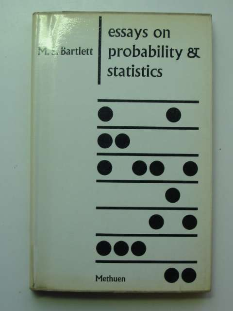 Photo of ESSAYS ON PROBABILITIES AND STATISTICS written by Bartlett, M.S. published by Methuen & Co. Ltd. (STOCK CODE: 811055)  for sale by Stella & Rose's Books