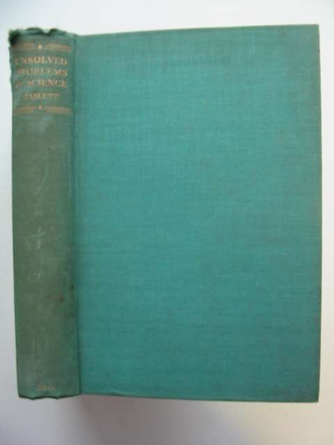Photo of UNSOLVED PROBLEMS OF SCIENCE written by Haslett, A.W. published by G. Bell & Sons Ltd. (STOCK CODE: 811774)  for sale by Stella & Rose's Books