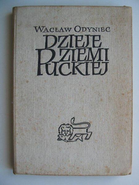 Photo of DZIEJE ZIEMI PUCKIEJ written by Odyniec, Waclaw published by Wydawnictwo Morskie (STOCK CODE: 811945)  for sale by Stella & Rose's Books
