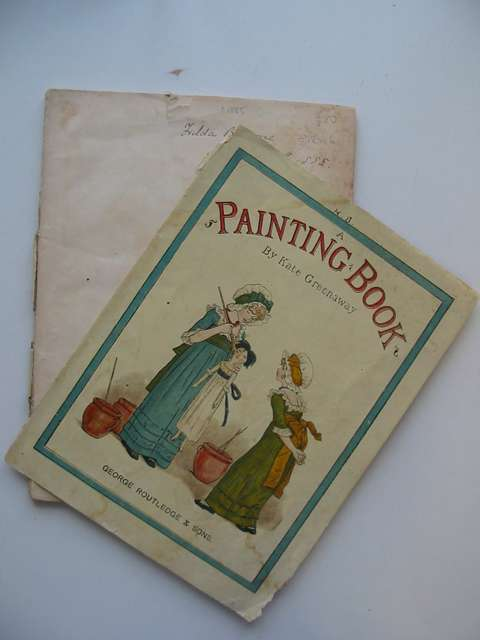 Photo of A PAINTING BOOK illustrated by Greenaway, Kate published by George Routledge & Sons (STOCK CODE: 812416)  for sale by Stella & Rose's Books