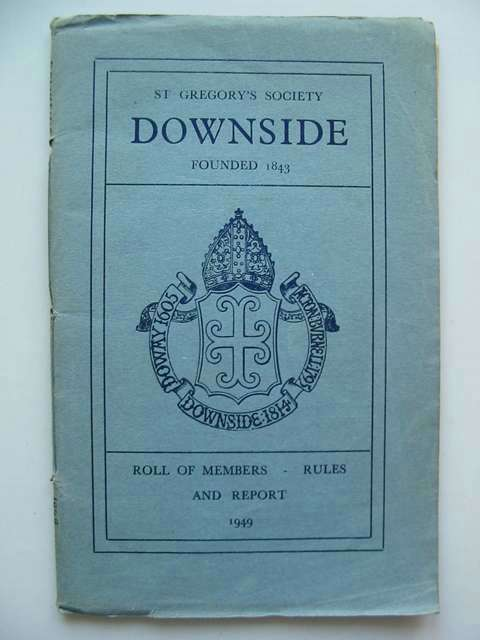 Photo of ST GREGORY'S SOCIETY DOWNSIDE ROLL OF MEMBERS published by St Gregory's Society (STOCK CODE: 812667)  for sale by Stella & Rose's Books