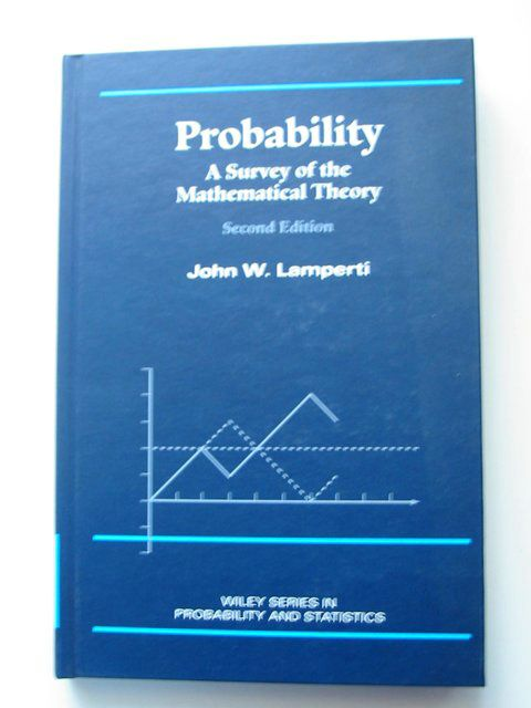 Photo of PROBABILITY written by Lamperti, John W. published by Wiley-Interscience (STOCK CODE: 813739)  for sale by Stella & Rose's Books