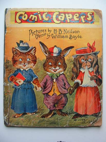Photo of COMIC CAPERS written by Boyle, William illustrated by Neilson, Harry B. (STOCK CODE: 813809)  for sale by Stella & Rose's Books