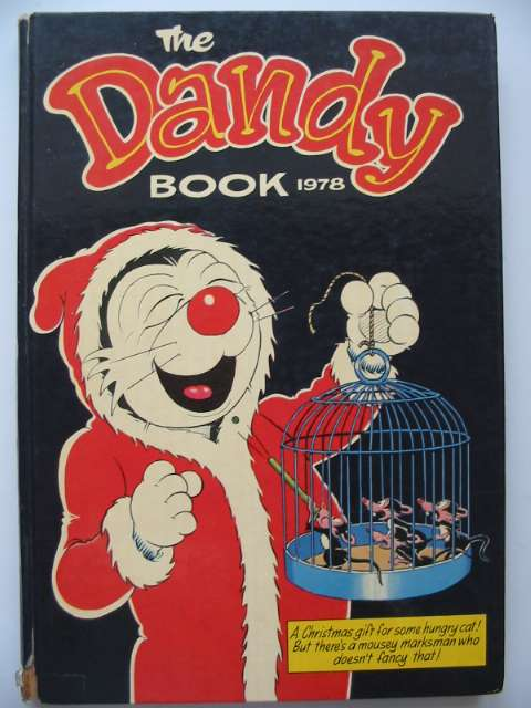 Photo of THE DANDY BOOK 1978 published by D.C. Thomson & Co Ltd. (STOCK CODE: 815151)  for sale by Stella & Rose's Books