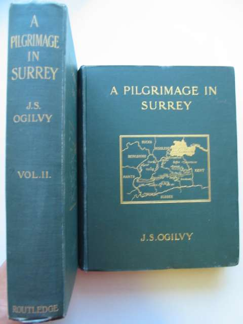 Photo of A PILGRIMAGE IN SURREY written by Ogilvy, James S. illustrated by Ogilvy, James S. published by Waverley Book Company Ltd. (STOCK CODE: 815467)  for sale by Stella & Rose's Books