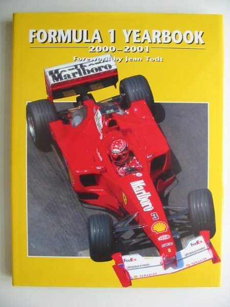 Photo of FORMULA 1 YEARBOOK 2000-2001 written by Domenjoz, Luc<br />Todt, Jean published by Parragon (STOCK CODE: 815482)  for sale by Stella & Rose's Books