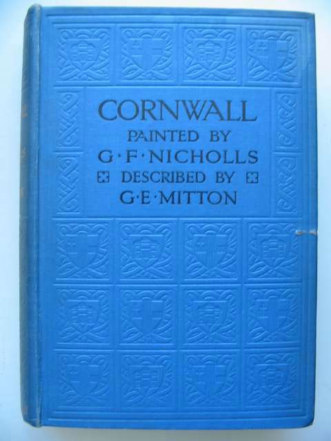 Photo of CORNWALL written by Mitton, G.E. illustrated by Nicholls, G.F. published by A. & C. Black (STOCK CODE: 815592)  for sale by Stella & Rose's Books