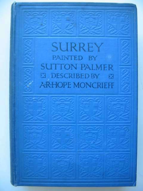 Photo of SURREY written by Moncrieff, A.R. Hope illustrated by Palmer, Sutton published by A. & C. Black (STOCK CODE: 815594)  for sale by Stella & Rose's Books