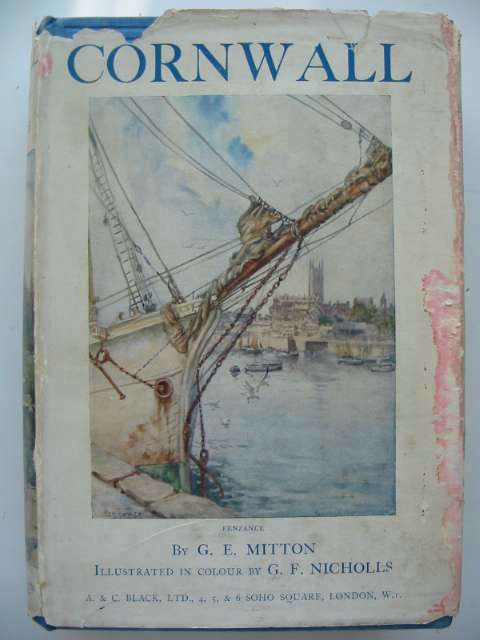 Photo of CORNWALL written by Mitton, G.E. illustrated by Nicholls, G.F. published by A. & C. Black (STOCK CODE: 815641)  for sale by Stella & Rose's Books