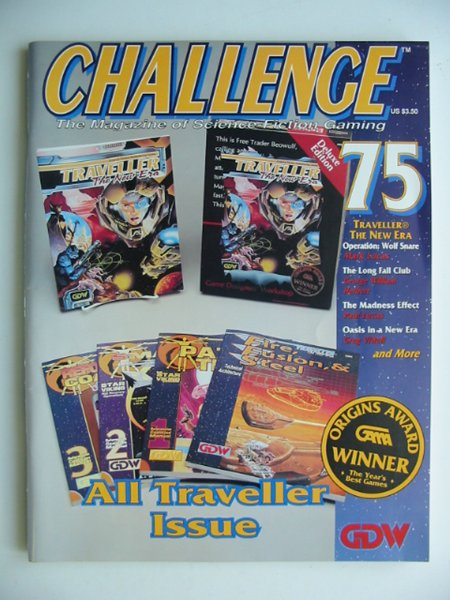 Photo of CHALLENGE 75 published by Game Designers Workshop (STOCK CODE: 815811)  for sale by Stella & Rose's Books