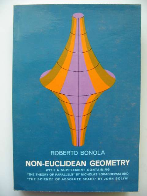 Photo of NON-EUCLIDEAN GEOMETRY written by Bonola, Roberto<br />Carslaw, H.S. published by Dover Publications Inc. (STOCK CODE: 815880)  for sale by Stella & Rose's Books