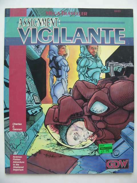 Photo of ASSIGNMENT VIGILANTE written by Gannon, Charles E. published by Game Designers Workshop (STOCK CODE: 815916)  for sale by Stella & Rose's Books