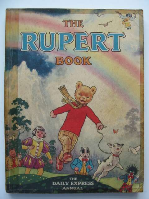 Photo of RUPERT ANNUAL 1948 - THE RUPERT BOOK written by Bestall, Alfred illustrated by Bestall, Alfred published by Daily Express (STOCK CODE: 816160)  for sale by Stella & Rose's Books