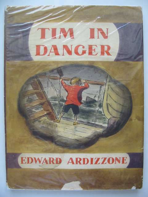 Photo of TIM IN DANGER written by Ardizzone, Edward illustrated by Ardizzone, Edward published by Oxford University Press (STOCK CODE: 816614)  for sale by Stella & Rose's Books