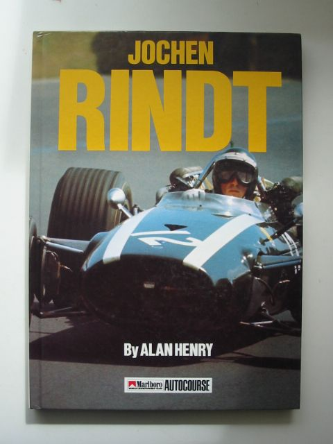 Photo of JOCHEN RINDT written by Henry, Alan published by Hazleton Publishing (STOCK CODE: 816763)  for sale by Stella & Rose's Books