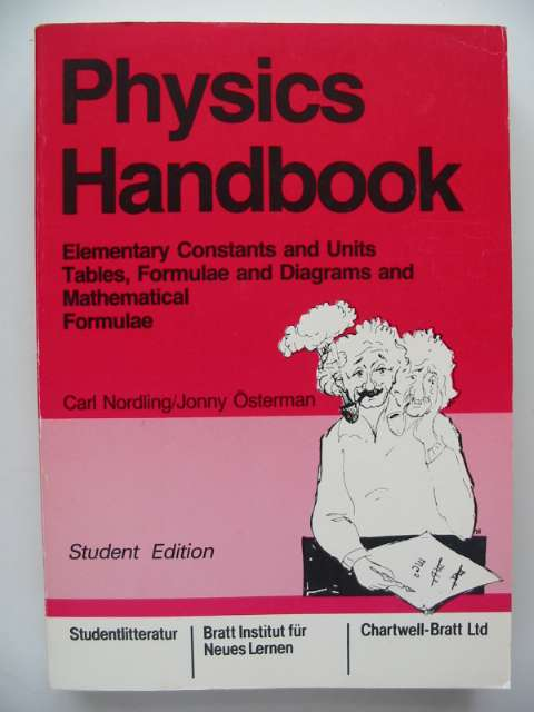 Photo of PHYSICS HANDBOOK written by Nordling, Carl<br />Osterman, Jonny published by Studentlitteratur (STOCK CODE: 816888)  for sale by Stella & Rose's Books