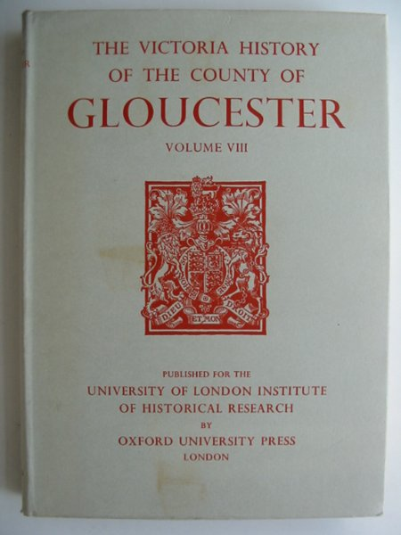 Photo of A HISTORY OF THE COUNTY OF GLOUCESTER VOLUME VIII written by Elrington, C.R. published by Oxford University Press (STOCK CODE: 817146)  for sale by Stella & Rose's Books