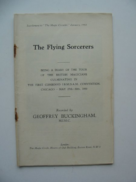 Photo of THE FLYING SORCERERS