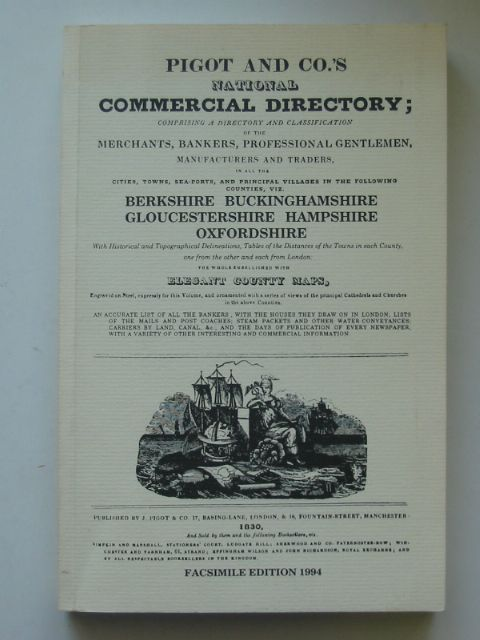 Photo of NATIONAL COMMERCIAL DIRECTORY BERKSHIRE, BUCKINGHAMSHIRE, GLOUCESTERSHIRE, HAMPSHIRE, OXFORDSHIRE published by Michael Winton (STOCK CODE: 817232)  for sale by Stella & Rose's Books