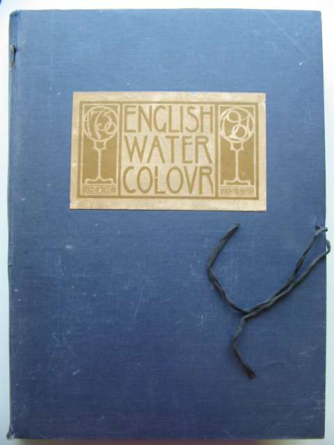 Photo of ENGLISH WATER-COLOUR written by Holme, Charles published by The Studio (STOCK CODE: 817607)  for sale by Stella & Rose's Books
