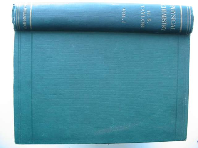 Photo of A TREATISE ON PHYSICAL CHEMISTRY VOLUME ONE written by Taylor, Hugh S. published by Macmillan & Co. Ltd. (STOCK CODE: 818222)  for sale by Stella & Rose's Books