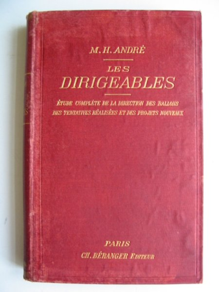 Photo of LES DIRIGEABLES written by Andre, M.H. published by Librairie Polytechnique Ch. Beranger (STOCK CODE: 818616)  for sale by Stella & Rose's Books