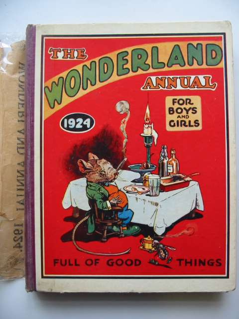 Photo of THE WONDERLAND ANNUAL 1924 published by The Amalgamated Press (STOCK CODE: 819215)  for sale by Stella & Rose's Books