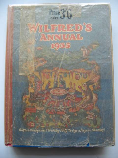 Photo of WILFRED'S ANNUAL 1935 illustrated by Beaman, S.G. Hulme<br />et al.,  published by Daily Mirror (STOCK CODE: 819216)  for sale by Stella & Rose's Books