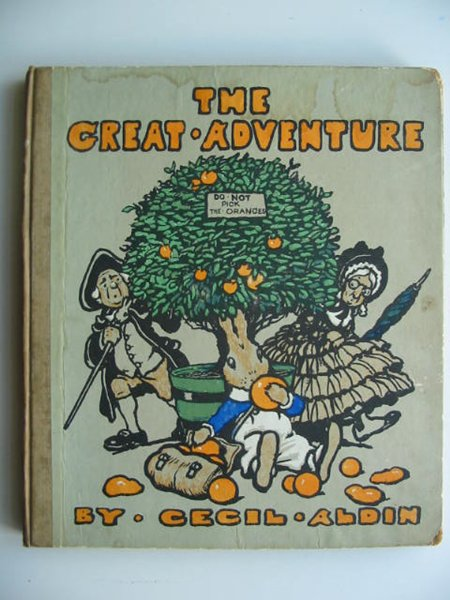 Photo of THE GREAT ADVENTURE written by Aldin, Cecil illustrated by Aldin, Cecil published by Humphrey Milford (STOCK CODE: 819381)  for sale by Stella & Rose's Books