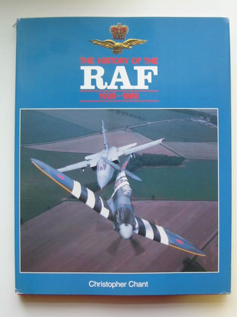 Photo of THE HISTORY OF THE RAF 1939-1989 written by Chant, Christopher published by Brian Trodd (STOCK CODE: 819901)  for sale by Stella & Rose's Books