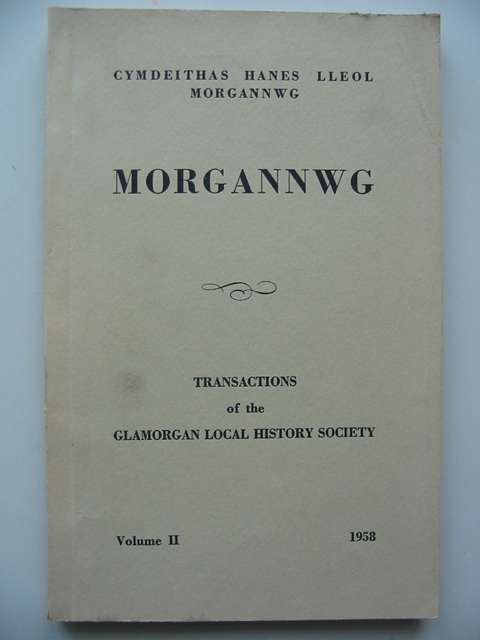 Photo of MORGANNWG VOL II published by Glamorgan Local History Society (STOCK CODE: 820113)  for sale by Stella & Rose's Books