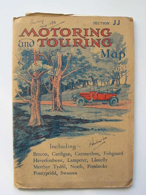 Photo of MOTORING AND TOURING MAP SECTION JJ (WALES) (STOCK CODE: 820441)  for sale by Stella & Rose's Books