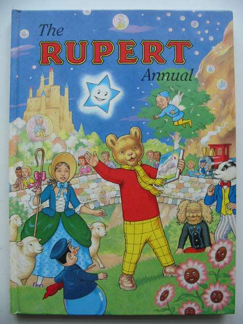Photo of RUPERT ANNUAL 1996 written by Robinson, Ian illustrated by Harrold, John<br />Hart, Gina published by Pedigree Books Limited (STOCK CODE: 822367)  for sale by Stella & Rose's Books