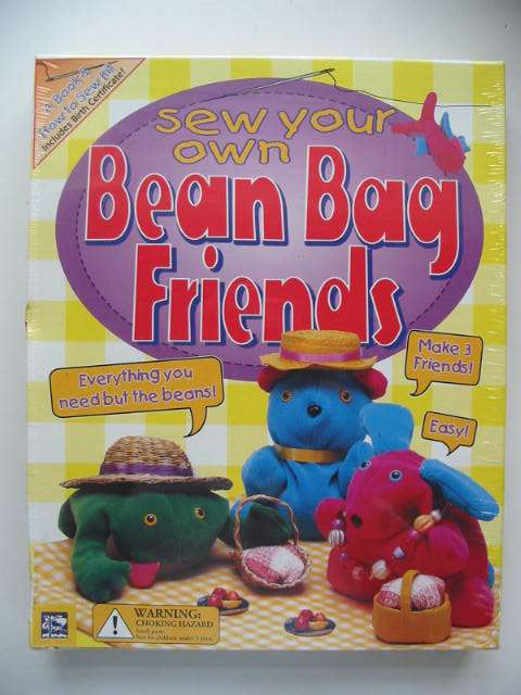 Photo of SEW YOUR OWN BEAN BAG FRIENDS published by Somerville House Publishing (STOCK CODE: 822498)  for sale by Stella & Rose's Books