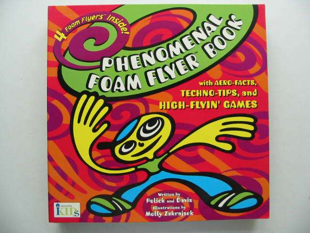 Photo of PHENOMENAL FOAM FLYER BOOK written by Polick,  illustrated by Zakrajsek, Molly published by Innovative Kids (STOCK CODE: 822505)  for sale by Stella & Rose's Books