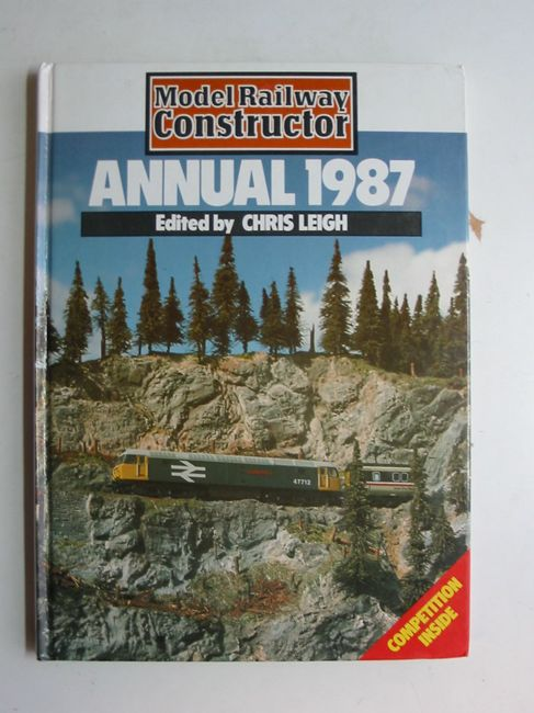 Photo of MODEL RAILWAY CONSTRUCTION ANNUAL 1987 written by Leigh, Chris published by Ian Allan Ltd. (STOCK CODE: 823266)  for sale by Stella & Rose's Books