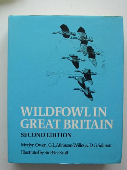 Photo of WILDFOWL IN GREAT BRITAIN written by Owen, Myrfyn<br />Atkinson-Willes, G.L.<br />Salmon, D.G. illustrated by Scott, Peter published by Cambridge University Press (STOCK CODE: 823782)  for sale by Stella & Rose's Books