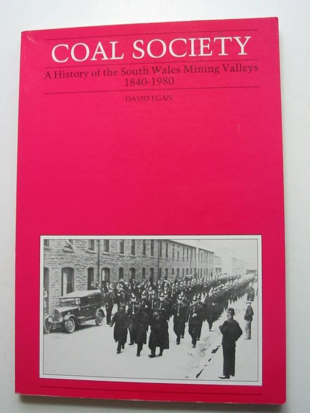 Photo of COAL SOCIETY written by Egan, David published by Gomer Press (STOCK CODE: 824260)  for sale by Stella & Rose's Books