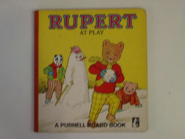 Photo of RUPERT AT PLAY published by Purnell (STOCK CODE: 900219)  for sale by Stella & Rose's Books