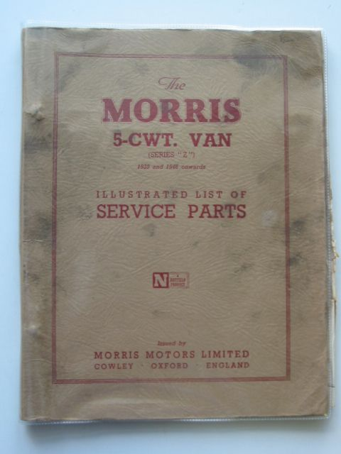 Photo of THE MORRIS 5-CWT VAN published by Morris Motors Limited (STOCK CODE: 986727)  for sale by Stella & Rose's Books